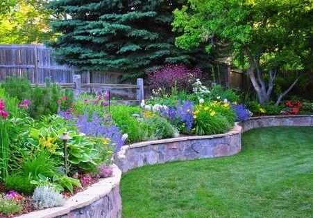 perennial garden awesome