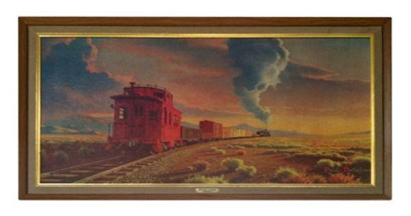 Painting in ChooChoos room  Paul Detlefsen Train
