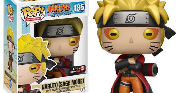 FUNKO POP Naruto Shippuden SAGE MODE VARIANT GAMESTOP