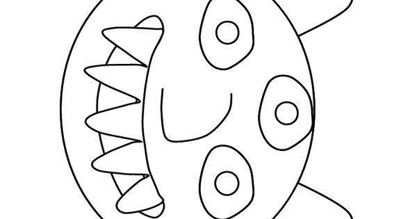 Coloring Toy Story Green Alien Coloring Pages