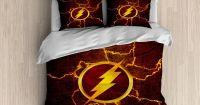The Flash Bedding - Superhero Duvet Cover, The Flash Duvet ...