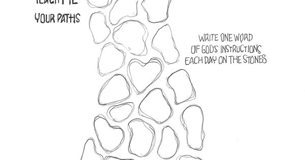 Coloring Printable Page 8x10 download Color as you read