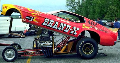 """The Ramchargers Powered Sien & Lankford """"brand X"""" Mustang"""