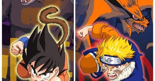Naruto Quotes Wallpaper Hd Dbz Vs Naruto Kid Goku Can Beat Naruto My Anime Interest