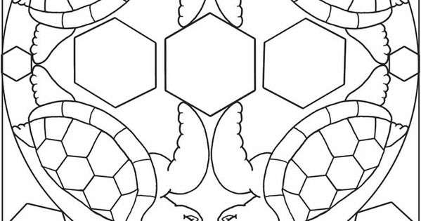 3-D Coloring Book--My First Animal Mandalas Dover