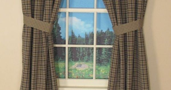 Primitive Curtains On Clearance  Country Drapes and Panel