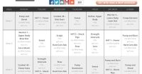 Les Mills Pump, Combat, and PiYo Hybrid schedule! | Get ...