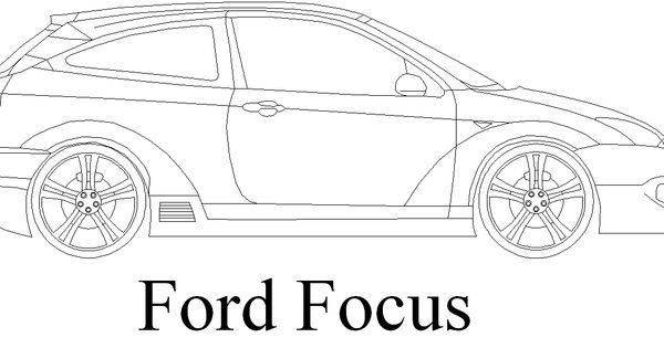 Dwg Adı : Modifiyeli ford focus çizimi İndirme Linki