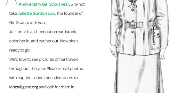 As you journey through this 100th Anniversary Girl Scout