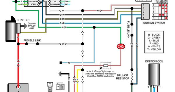 Automotive Alternator Wiring Diagram