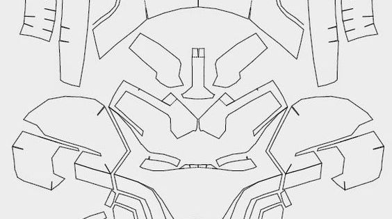 dali-lomo: iron man paper FREE template :) pdo by