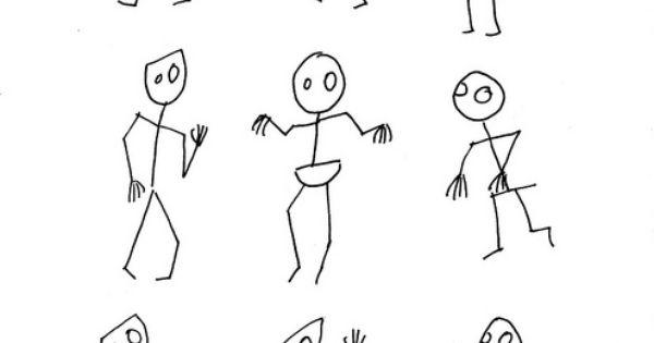 Zombie Stick Figures by Deborah Leigh (Migraine Chick