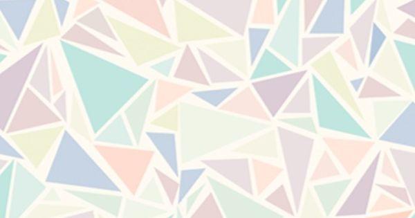 Wallpaper Pastel Cute Pastel Geometric Triangle Design Case Iphone Galaxy Cover