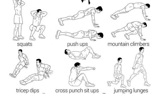 90 Minute Full Body Circuit Workout Gym Workouts Pinterest