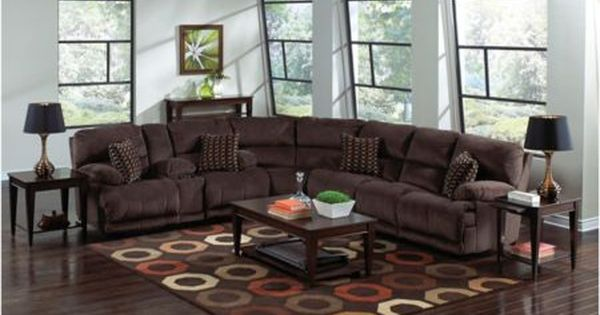 corinthian wynn sectional sofa support argos jackson-catnapper carmen reclining group (model ...