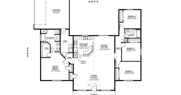 Good open floor plan with no formal dining room, 2188 sf