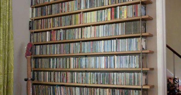 Storage And Organization  DVD Storage Solution Ideas