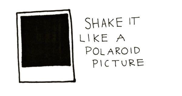 Polaroid, Polaroid pictures and Shake on Pinterest