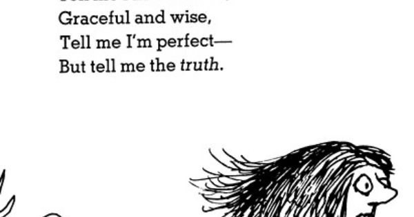 shel silverstein. i do want to hear it, but i also want