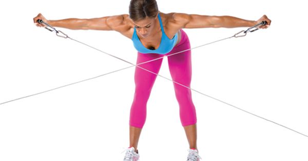 Cable Machine Exercises Circuit Workout Plan Oxygen Mag Health