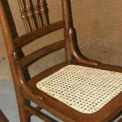 Vintage School Desk Chair Combo Retro Antique Oak Cane Bottom Rocking From Stockade 'n Stuff Antiques   Antiques/ I Like ...