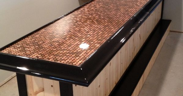 diy kitchen counters the fat burning epoxy bar top #epoxy #resin #coating | tops ...