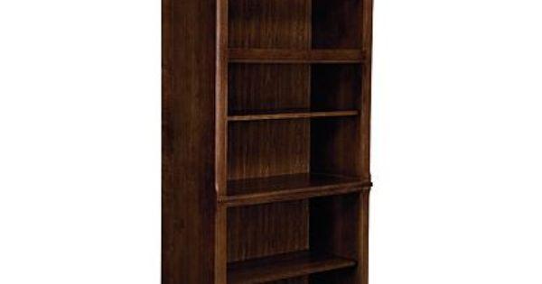 Thomasville Workstyles 51241 802 Bookcase Mocha Finish
