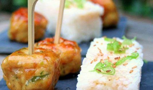 Boulettes Japonaises Au Poulet Tsukune Foodies
