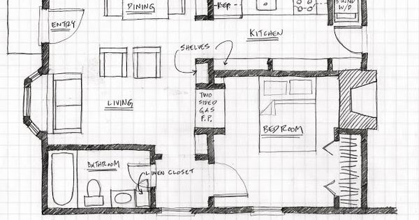 Small Scale Homes: Floor Plans for Garage to Apartment