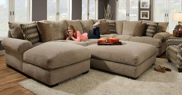 oversized sectional   Gallery of the Avoiding Overstuff Room Using Oversized Sectional Sofas