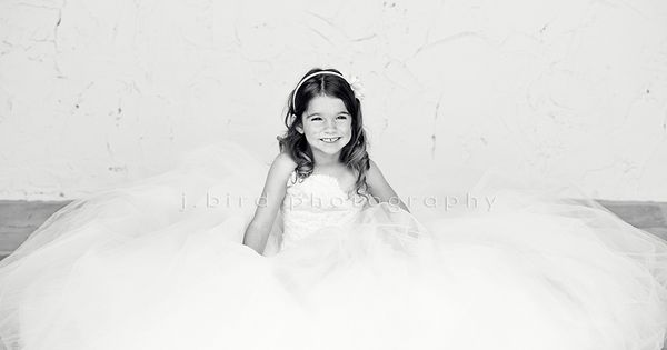 Little Girl In Mom's Wedding Dress. Maybe Do This On Our