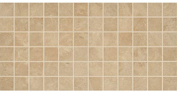 2 X 2 GLAZED CERAMIC MOSAIC  BEIGE  Daltile Limestone  AFFINITY  Pinterest  Mosaics