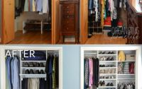 Master Bedroom Closet Makeover Before and After ...