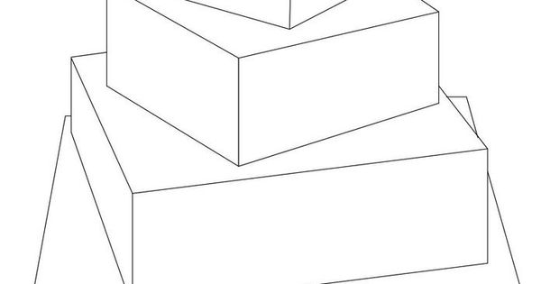 4 tier rotated squares — Sketches, Patterns & Templates