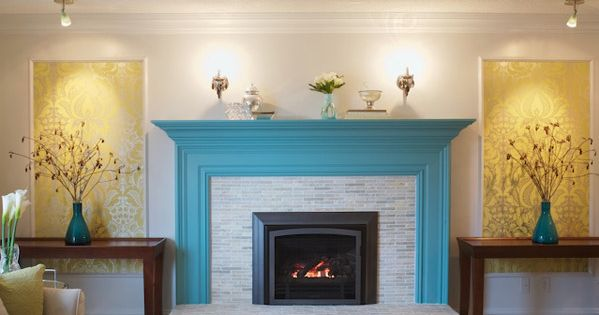 Miscellaneous House Of Turquoise Fabulous Fireplace