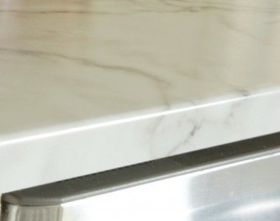 formica kitchen cabinets small commercial agean edge//formica in calacatta marble   countertops ...
