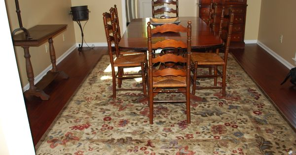Vintage Tell City Chair Company dining set in Mahogany