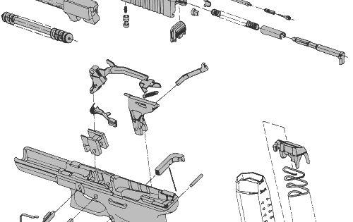 glock parts diagram glock 17 s glock 17 9mm glock