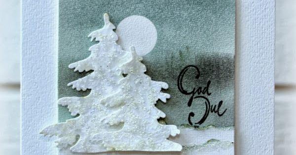 Rapport Frn Ett Skrivbord Glittrande Granar Christmas