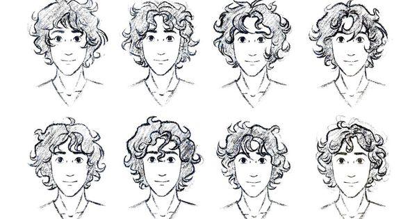 Kumpulan Soal Pelajaran 6 Curly Hair Anime Male