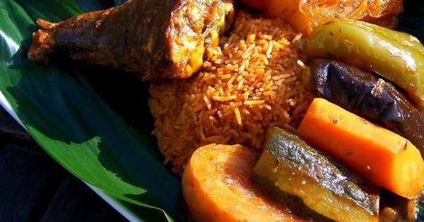 lacotedivoire  Name Riz au gras Fatty rice Cte dIvoire styleEaten in West Africa