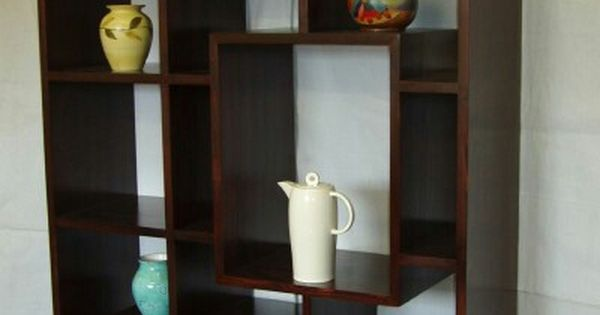 Japanese style wooden bookcase belleza Pinterest
