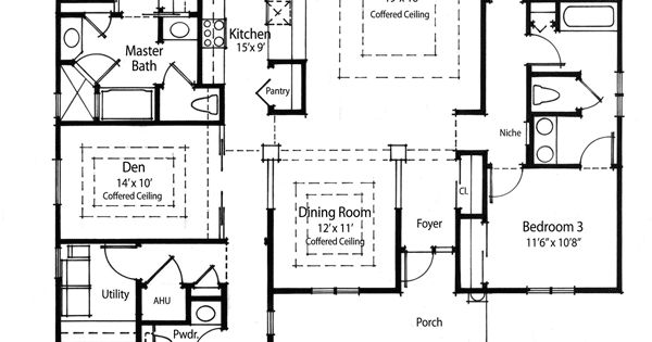 Plan W33019ZR: Super Energy Efficient House Plan