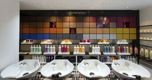 Color Bar Idea  Salon  Pinterest  Salons and Salon ideas
