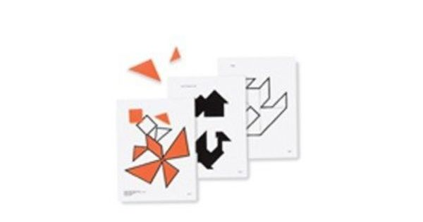 Tangram Pattern Cards Gr 2 & Up 16 by Frank Schaffer