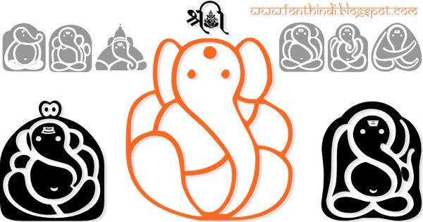 Download Shree Ganesha symbols font | Hindi Fonts Collection ...