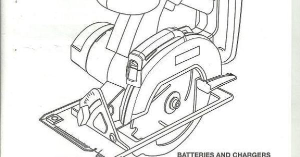 Operator's Manual Ryobi 18V Laser Circular Saw P500 5-1/2