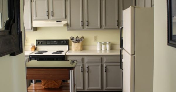 kitchen cabinet updates dark wood cabinets wall color: soft sunlight by valspar french ...