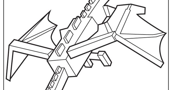 Minecraft Schematics Cool Dragon