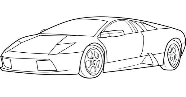 Lamborghini Zeichen Zum Ausmalen